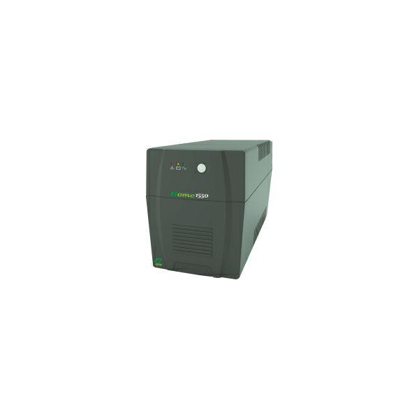 Elsist UPS Home 1550A/930W, Line-Interactive, noise filtering, overvoltage/undervoltage/overload/shortcircuit protection