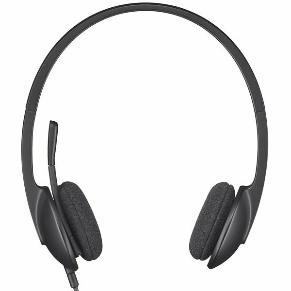 LOGITECH Corded USB Headset H340 - EMEA - BLACK