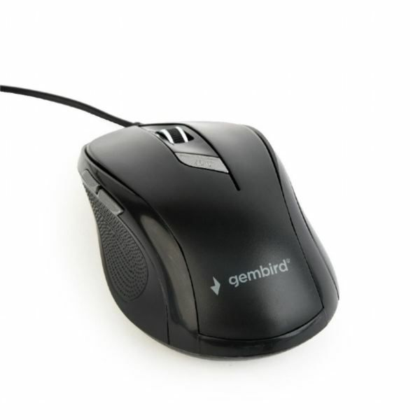 Gembird Optical mouse, USB, black