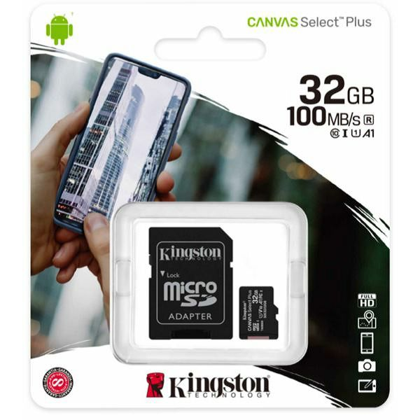 Kingston MicroSDHC Class10 32GB