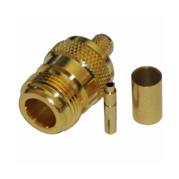 MaxLink VF konektor N female gilded for H155, RF240