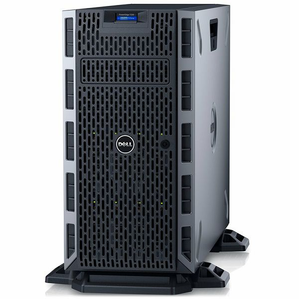 DELL EMC PowerEdge T330 w/8x 3.5in, Intel Xeon E3-1230 v6 3.5GHz, 8M cache, 4C/8T, turbo (72W), 8GB 2666MT/s DDR4, 600GB 10K RPM SAS 2.5in Hot-plug, DVDRW, iDRAC8 Express, FIPS TPM 2.0, On-Board LOM 1
