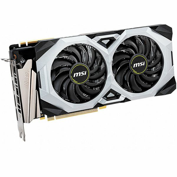 MSI Video Card NVidia GeForce RTX 2070 VENTUS SUPER OC GDDR6 8GB/256bit, 1785MHz/14000MHz, PCI-E 3.0 x16, 3xDP, HDMI, TORX 2X Cooler(Double Slot) Backplate, Retail