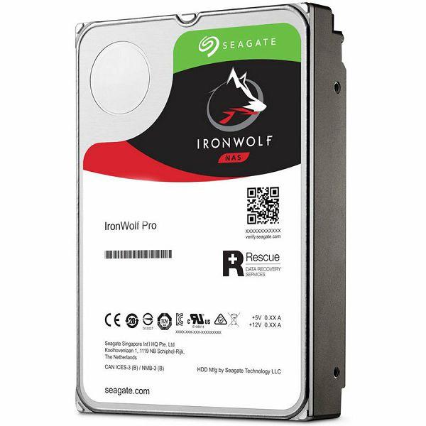 SEAGATE HDD Desktop IronWolf Pro Guardian +Rescue (3.5/ 12TB/ SATA/ rmp 7200