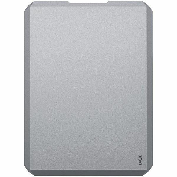 LaCie HDD External USB 3.0 Drive (2.5/4TB/ USB 3.0) Moon Silver