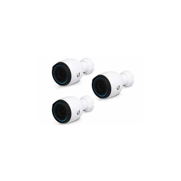 Ubiquiti Networks 4K Indoor Outdoor IP Camera with Infrared and Optical Zoom (3-Pack)