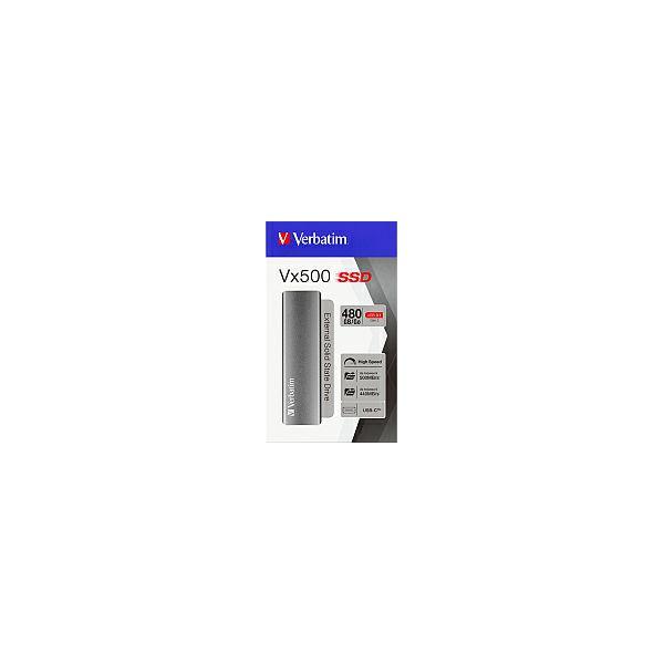 Verbatim Vx500 480GB SSD vanjski USB3.1 G2