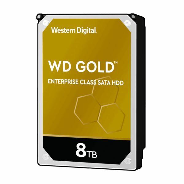 Western Digital HDD, 8TB, 7200rpm, WD Gold