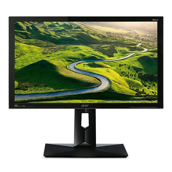 Acer CB241HY 23.8 LED Monitor IPS ZeroFrame  UM.QB1EE.001