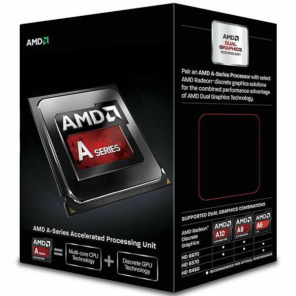 AMD CPU Kaveri A10-Series X4 7800 (3.9GHz,4MB,65W,FM2+) box,Radeon TM R7 Series
