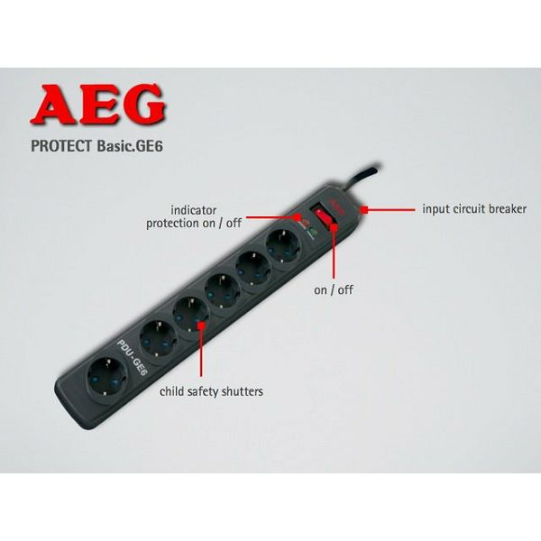 AEG Protect Basic GE6  600 000 7194
