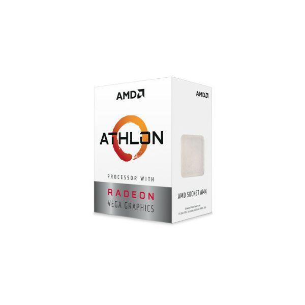 AMD Athlon 200GE, 3.2GHz, 2C/4T, Vega, AM4,35W,box