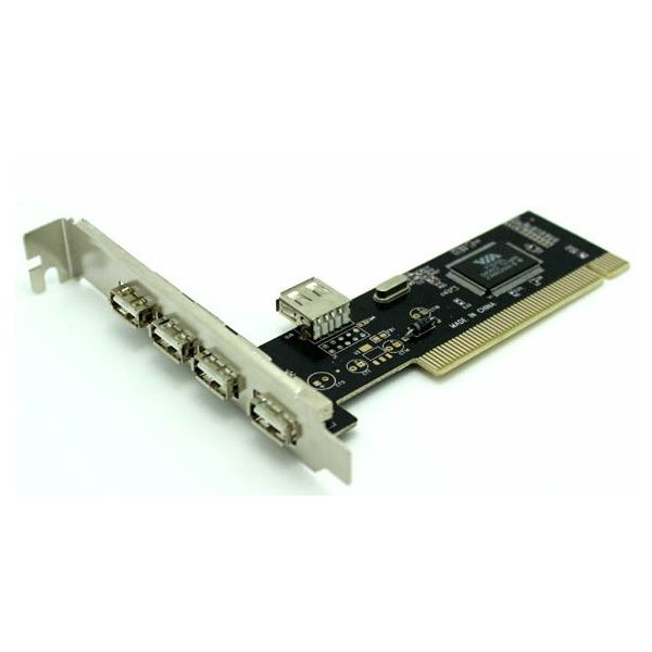 Asonic PCI USB 2.0, 4x exter., 1x inter. port