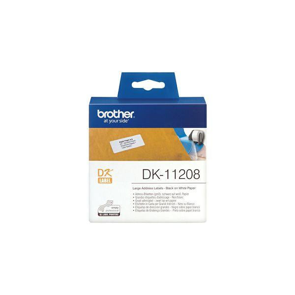 DK11208 Velike adresne naljepnice  DK11208