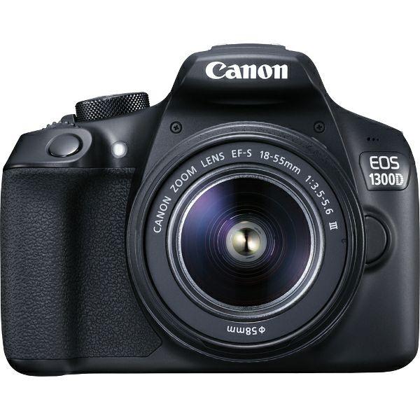 Canon EOS 1300D 18-55, 18MP, ISO6400, FullHD