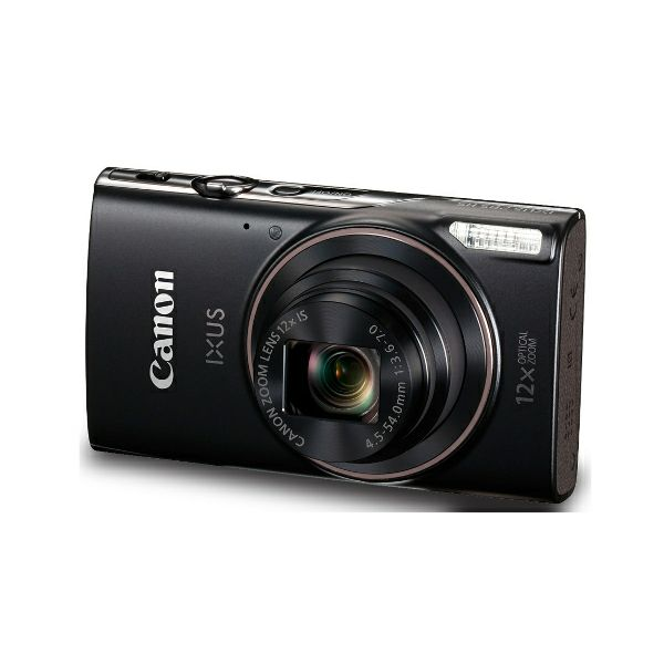 Canon IXUS 285 HS, crni
