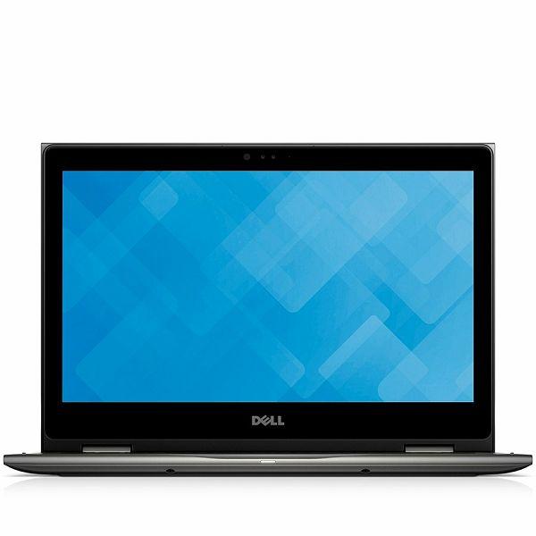 DELL Notebook Inspiron 5378 2-in-1 13.3 FHD(1920x1080)TOUCH, Intel Core i3-7100U(3M, up to 2.4 GHz), 4GB, 256GB SSD, Intel HD620, noDVD, WiFi, BT, WiDi, Miracast, IR Cam, Mic,USB3.0,USB2.0,USB3.0 PW