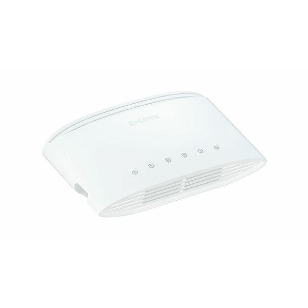 D-Link 5 1000BaseT Gigabit Desktop Switch  DGS-1005D/E