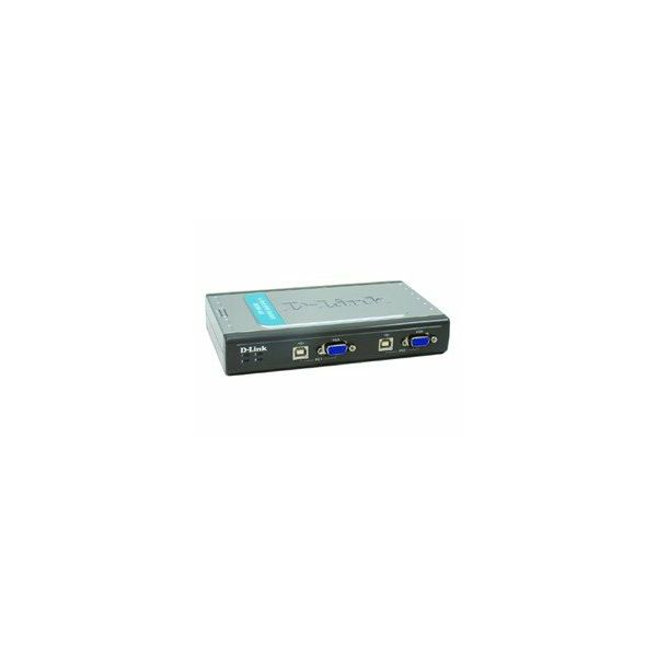 4-Port Video+USB Switch, With 2 KVM cables  DKVM-4U