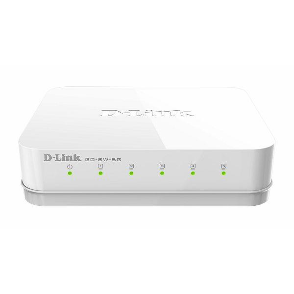 5 ports Gigabit Ethernet Easy Desktop Switch  GO-SW-5G/E