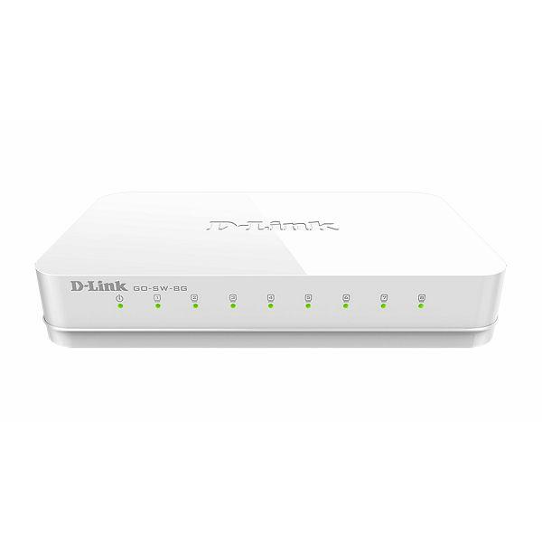 8 ports Gigabit Ethernet Easy Desktop Switch  GO-SW-8G/E