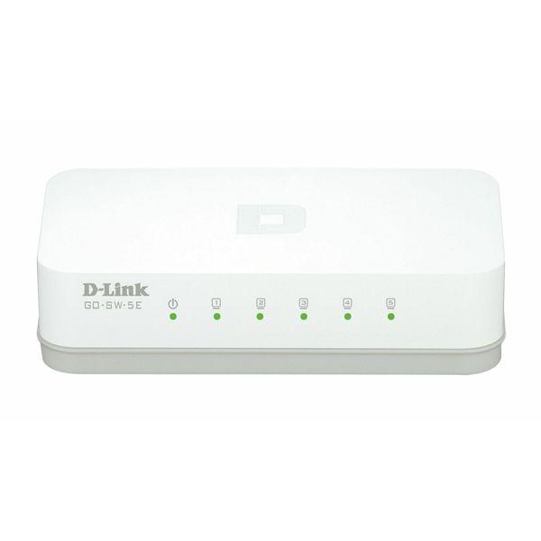 5 Port 10/100M bps Desktop Switch  GO-SW-5E/E