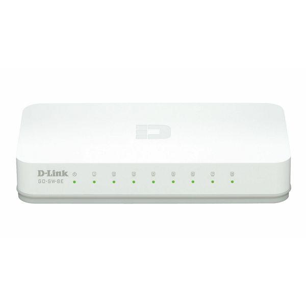 8 Port 10/100M bps Desktop Switch  GO-SW-8E/E
