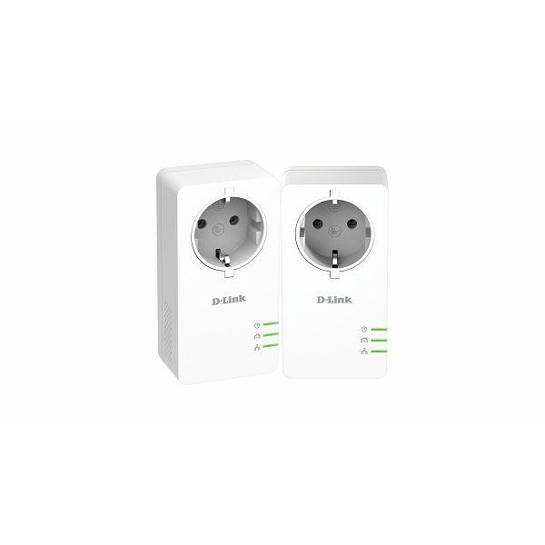 PowerLine AV2 1000 HD Gigabit Passthrough Kit  DHP-P601AV/E
