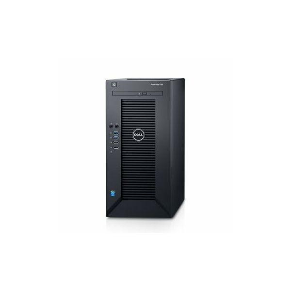 DELL EMC PowerEdge T30, Intel Xeon E3-1225v5 3.3Gz, 1x8GB DDR4, 4 DIMM slots, up to 64GB DDR4 2133MT/s, 1TB HDD, (4 x 3.5