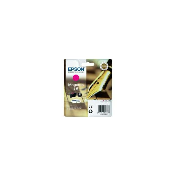Tinta WF2010/2520/2530/2540 magenta  C13T16234020