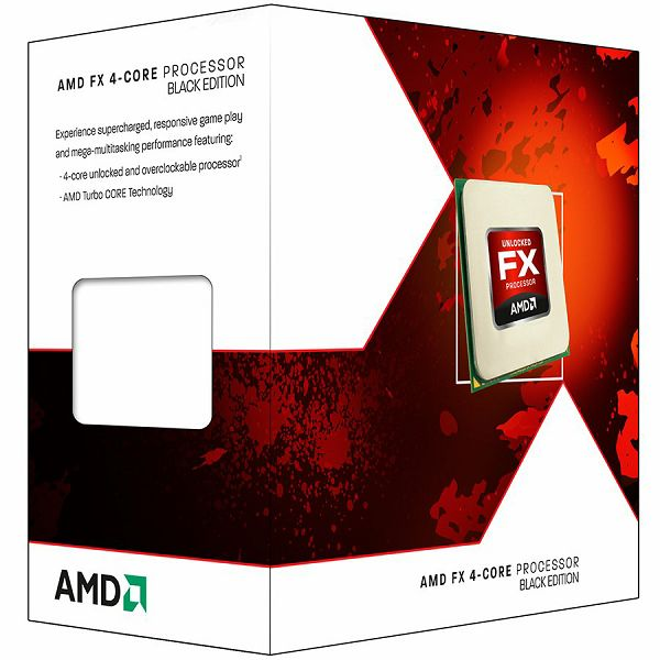 AMD CPU Desktop FX-Series X4 4300 (3.8GHz,8MB,95W,AM3+) box