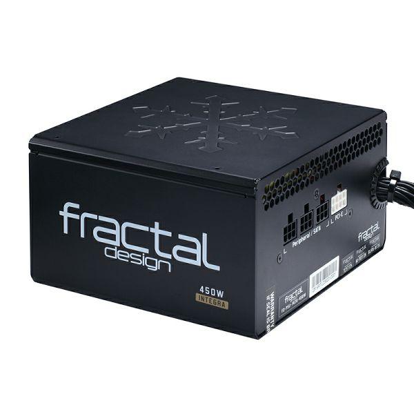 Fractal Integra M 450W, 80+ BRONZE polu modularno
