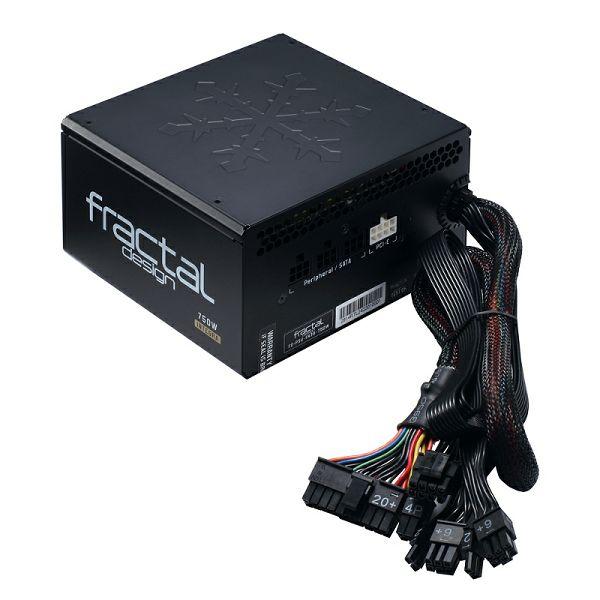 Fractal Integra M 750W, 80+ BRONZE polu modularno