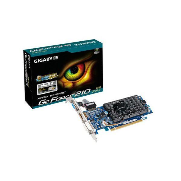 Gigabyte GF N210, 1GB DDR3, HDMI, DVI, DX10