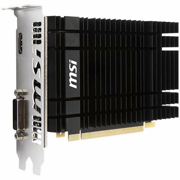 MSI Video Card GeForce GT 1030 OC GDDR5 2GB/64bit, 1265MHz/6008MHz, PCI-E 3.0 x16, HDMI, DP, Heatsink, Retail