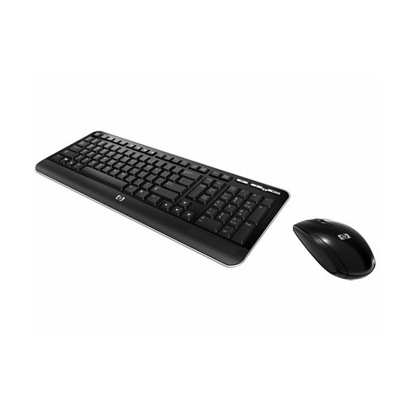 HP Wireless Keyboard  and  Mouse  QY449AA#AKN
