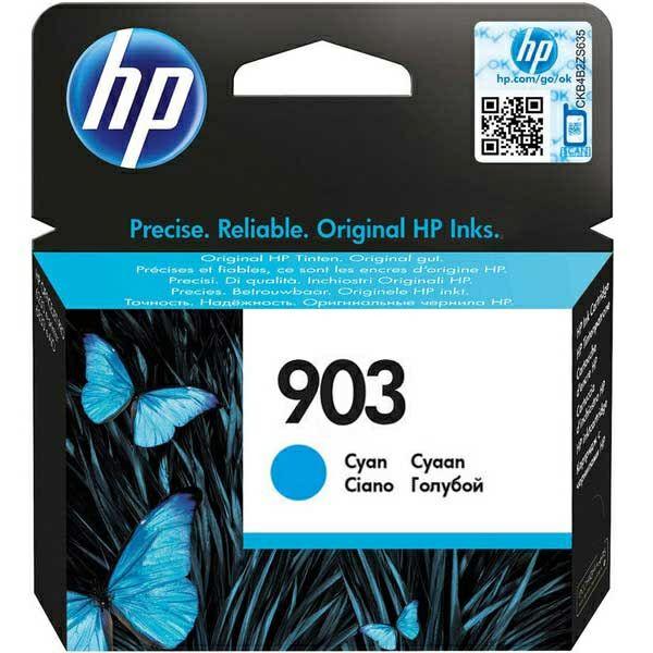 HP 903 Cyan Original Ink Cartridge  T6L87AE