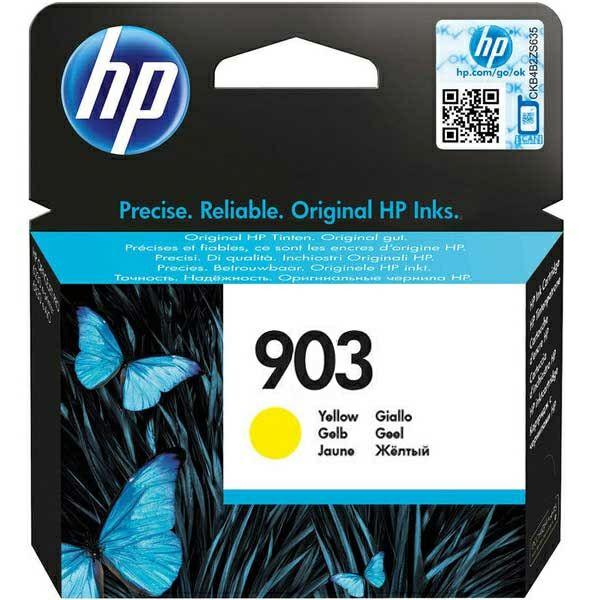 HP 903 Yellow Original Ink Cartridge  T6L95AE