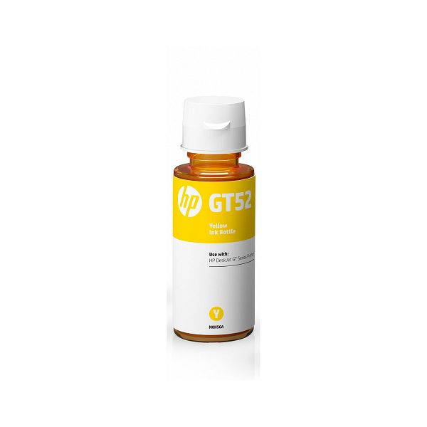 HP GT52 Yellow Original Ink Bottle  M0H56AE