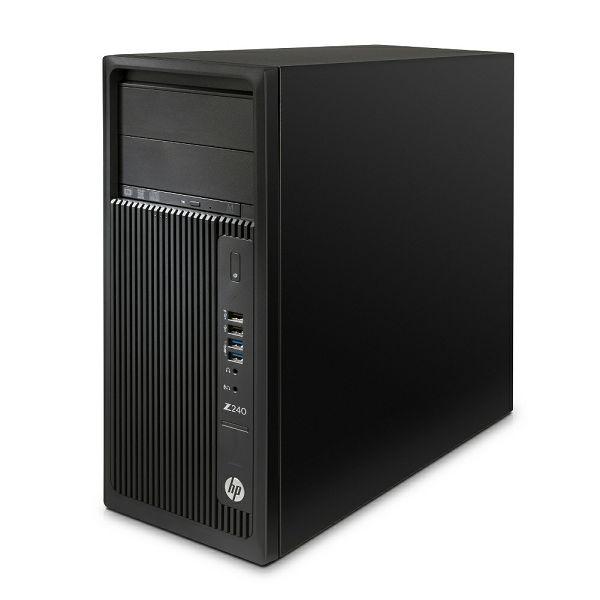 HP Z240 XeonE3/8GB/SSD512GB/K620/W10&W7P64/tip+miš