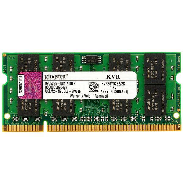 Kingston  2GB 800MHz DDR2 Non-ECC CL6 SODIMM, EAN: 740617128826