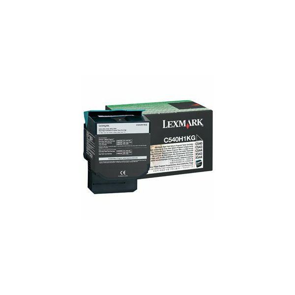 Toner C54x/ X54x black 2.5K  C540H1KG