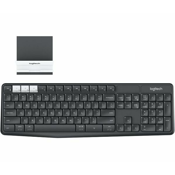 K375s Multi-Device Wireless Keyboard and Stand Com  920-008218