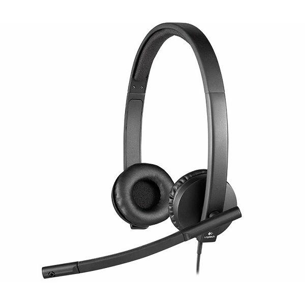 USB Headset H570e Stereo  981-000575