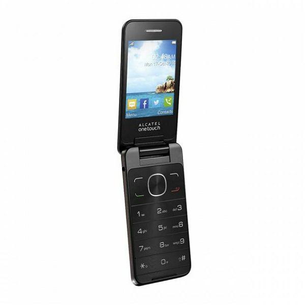 Mobitel Alcatel OT-2012 DS, smeđi  4894461216447