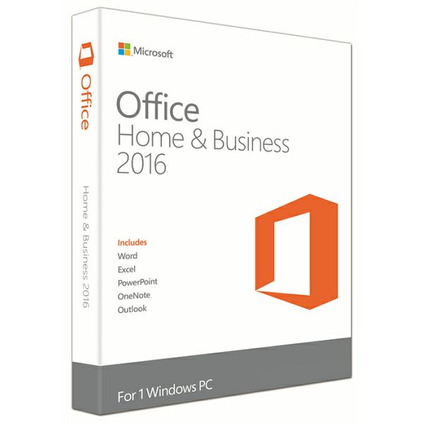 Office Home&Bus 2016 Eng Medialess  T5D-02826