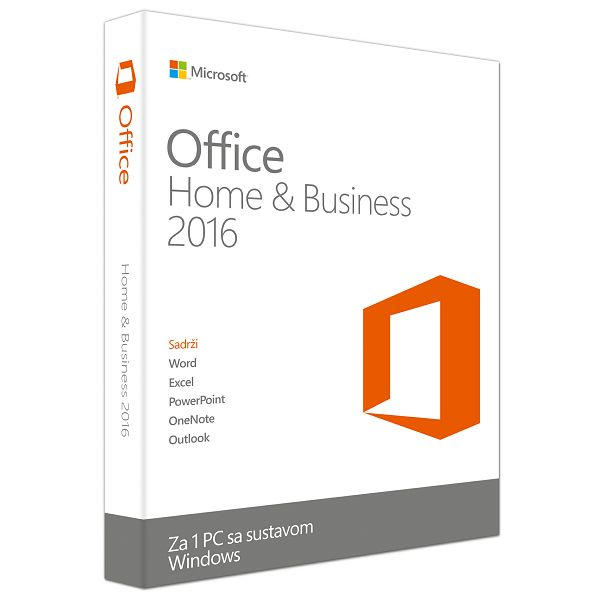 Office Home&Bus 2016 Cro Medialess  T5D-02748