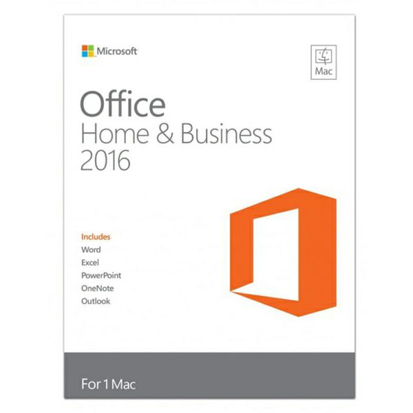 Office Mac Home&Bus. 2016 Eng Medialess  W6F-00952