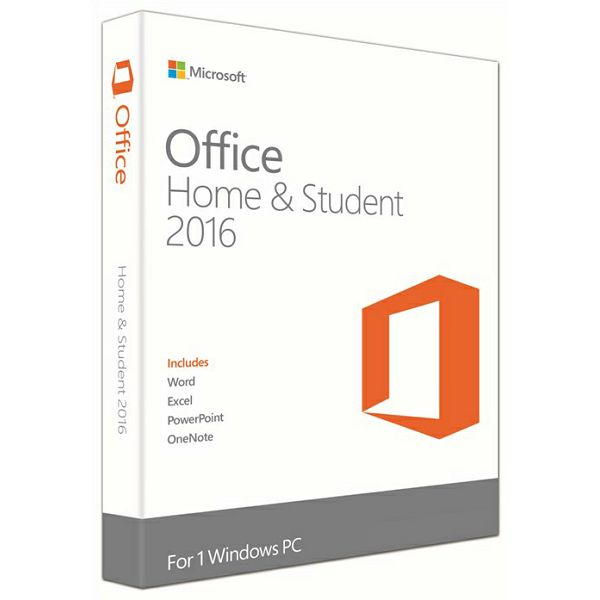 Office Home&Student 2016 Eng Medialess P2  79G-04597
