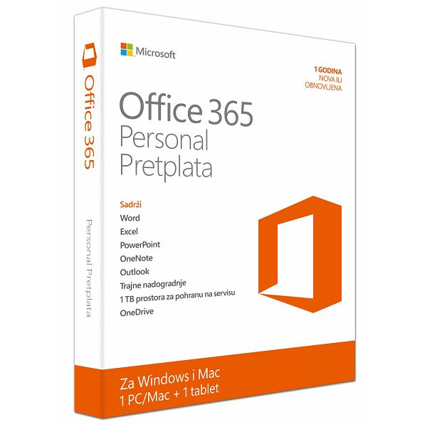 Office 365 Pers Cro subs 1YR medialess P2  QQ2-00510